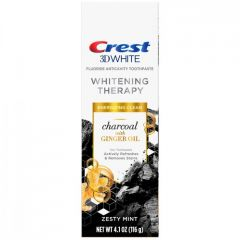 Crest 3D White Whitening Therapy Charcoal With Ginger Oil – Зубная паста 116 грамм