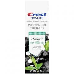 Crest 3D White Whitening Therapy Charcoal With Tea Tree Oil – Зубная паста 116 грамм